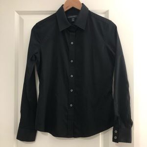 Fitted dress shirt